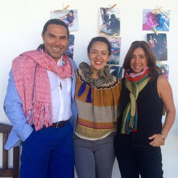 Marco, Linda y Claudia